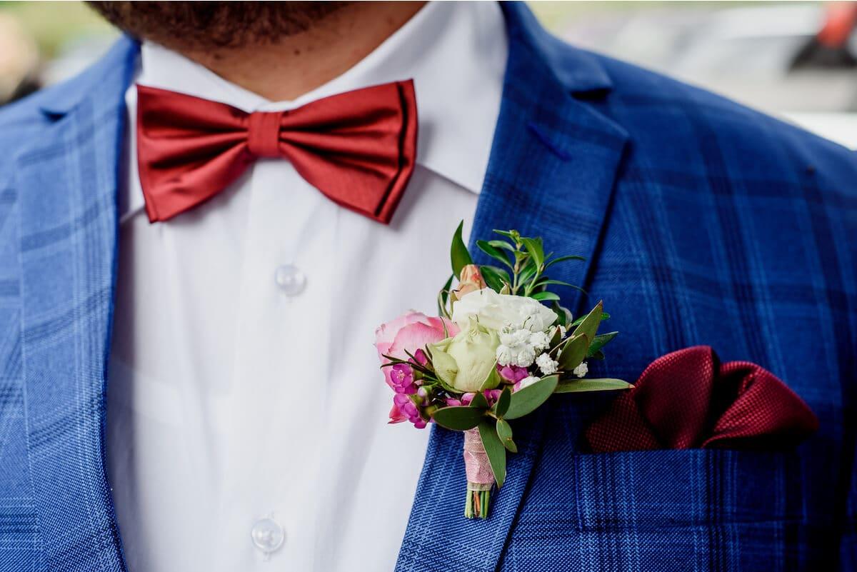 color traje de novio