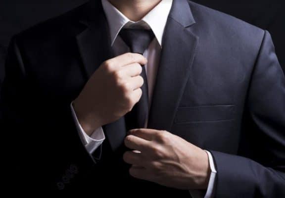 corbata y accesorios