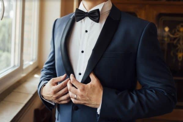 traje elegante