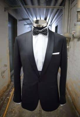 traje formal noche