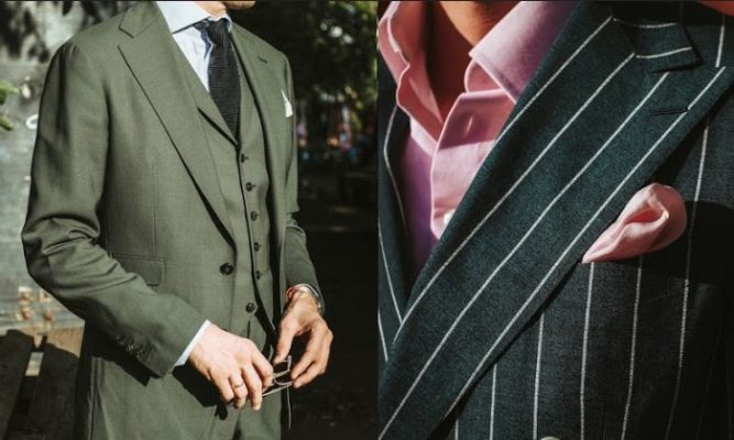 trajes formales