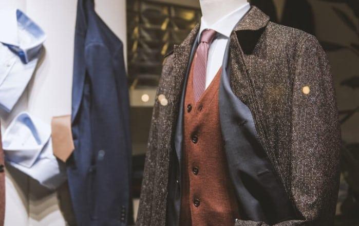 traje de invierno para hombre