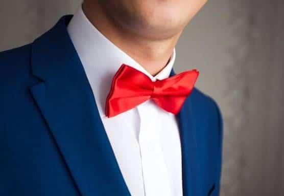 corbata de moño