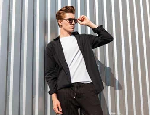 outfit con pantalón negro