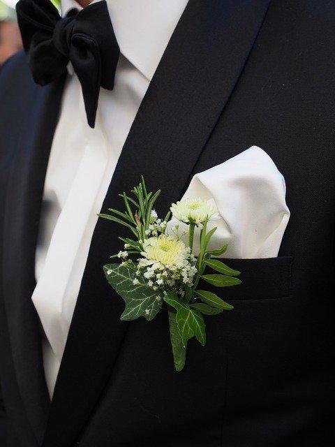 traje de boda a la medida