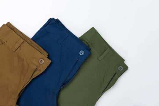 colores adecuados en los pantalones de vestir