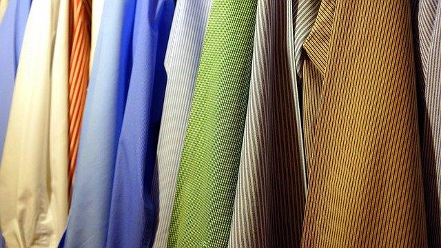 los colores de la ropa